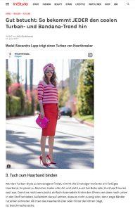 So bekommt JEDER den coolen Bandana und Turban Trend hin - InStyle - 2017 06 - Alexandra Lapp - found on http://www.instyle.de/fashion/turban-binden-anleitung