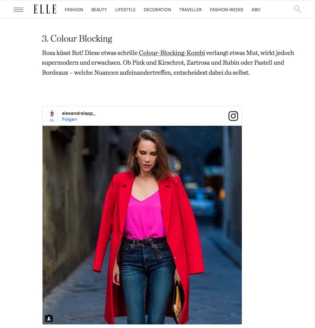 So stylst du Rosa und Pink erwachsen - ELLE - 2017-03 - Alexandra-Lapp - found on http://www.elle.de/styling-tipps-rosa-erwachsen