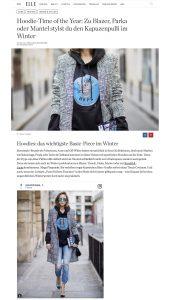 So stylst du den Hoodie im Winter - ELLE de - 2017 12 10 - Alexandra Lapp - found on http://www.elle.de/hoodie-winter-2017