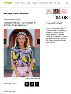 Sommerfrisuren - Haarschnitte Stylings für den Sommer - myself.de - 2019 06 19 - Alexandra Lapp - found on https://www.myself.de/beauty/frisuren/galerie-sommerfrisuren/#frisur-mit-haarband