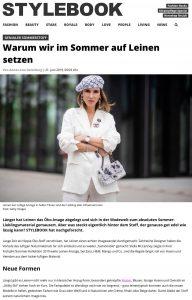 Sommerstoff - Leinen so wird er am besten getragen - stylebook.de - 2019 06 21 - Alexandra Lapp - found on https://www.stylebook.de/fashion/sommerstoff-leinen-vorteile-kombinationen