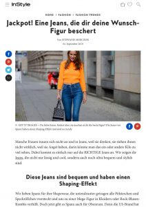 Spanx Jeans mit Shaping Effekt - instyle.de - 2019 09 04 - Alexandra Lapp - found on https://www.instyle.de/fashion/spanx-jeans-shaping-effekt