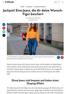 Spanx Jeans mit Shaping Effekt - instyle.de - 2019 09 04 - Alexandra Lapp - found on https://www.instyle.de/fashion/spanx-jeans-shaping-effekt
