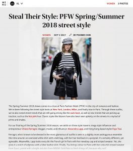 Steal Their Style - PFW Spring Summer 2018 street style - LifestyleAsia - Kuala-Lumpur - 2017 10 - Alexandra Lapp - found on http://www.lifestyleasia.com/526538/steal-style-pfw-springsummer-2018-street-style/#