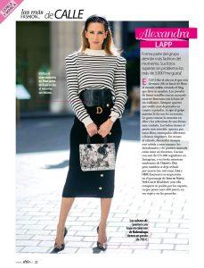 Stilo Espana - 2020 02 - page 22 - las mas fashion de calle - Alexandra Lapp