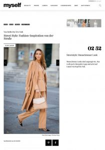 Street Style - Fashion-Inspiration von der Straße - Myself - myself.de - 2019 10 21 - Alexandra Lapp - found on https://www.myself.de/mode/trends/galerie-street-style/#streetstyle-monochromer-look