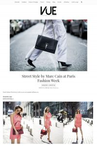 Street Style by Marc Cain at Paris Fashion Week - Vue Magazine com - 2018 03 12 - Alexandra Lapp - found on https://vuenj.com/marc-cain-paris-fashion-week/