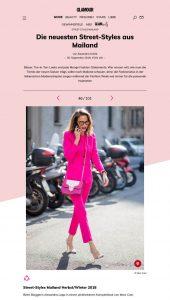 Street-Styles - Mailand - Die besten Looks aus Italien - GLAMOUR - glamour.de - 2019 09 20 - Alexandra Lapp - found on https://www.glamour.de/mode/street-style/street-styles-mailand