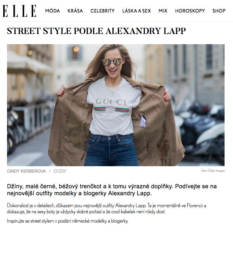 Street style podle Alexandra Lapp - ELLE-CZ - 2017-04 - found on http://www.elle.cz/newsletter/alexandra-lapp-street-style?showall=1