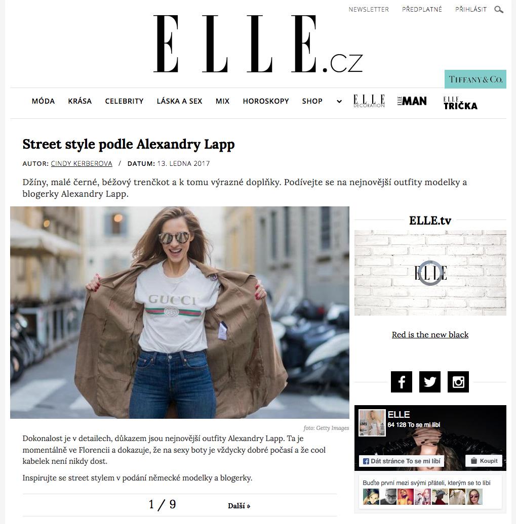 Alexandra Lapp Street Style - Found on http://www.elle.cz/newsletter/alexandra-lapp-street-style?showall=1