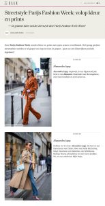 Streetstyle Parijs Fashion Week we zagen veel kleur 3 - elle.com/nl - 2020 02 27 - Alexandra Lapp - found on https://www.elle.com/nl/mode/fashion-week/g31130747/streetsyle-parijs-fashion-week/?slide=1