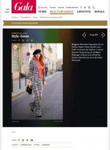 Style Zoom - Die besten Streetstyle-Looks der Woche - GALA Germany online - 2018 10 05 - Alexandra Lapp - found on https://www.gala.de/beauty-fashion/fashion/streetstyle-looks--style-zoom-2018_21827142-21263214.html