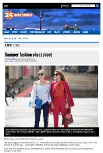 Summer fashion cheat sheet - 24 Hours Toronto - 2017 09 - Alexandra Lapp - found on http://www.toronto24hours.ca/2017/08/01/summer-fashion-cheat-sheet