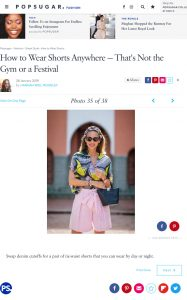 Swap denim cutoffs for a pair of tie waist shorts that you can wear - How to Wear Shorts - popsugar.co.uk - 2019 01 28 - Alexandra Lapp - found on https://www.popsugar.co.uk/fashion/photo-gallery/45706452/image/45706446/Swap-denim-cutoffs-pair-tie-waist-shorts-you-can-wear