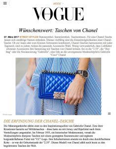 Taschen von Chanel: Die schönsten Street Styles - VOGUE - 2017 04 - Alexandra Lapp - found on http://www.vogue.de/mode/mode-trends/chanel-taschen-street-styles