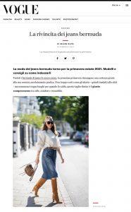 Tendenze jeans 2021 i modelli bermuda per l estate - Vogue Italia - vogue.it - 2021 02 19 - Alexandra Lapp - found on https://www.vogue.it/moda/article/tendenze-jeans-2021-bermuda-estate-foto