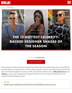 The 12 hottest celebrity-backed designer shades of the season - Photo 1 - us.hola.com - 2020 06 20 - Alexandra Lapp - found on https://us.hola.com/fashion/gallery/20200620fo7r6b0ehb/sunglasses-spring-summer-fashion-trends-sunglasses/1