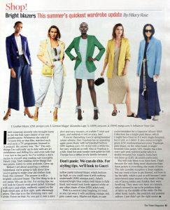 The Times Magazine - 2019 05 29 - Page 63 - Bright blazers - This summers quickest wardrobe update - Alexandra Lapp