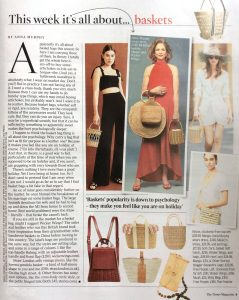 The Times Magazine - 2019 07 - Page 9 - This week it's all about baskets - Alexandra Lapp