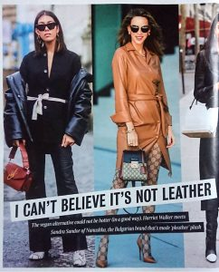 The Times Magazine - Times 2 - 2019 11 - I can't believe it's not leather - Alexandra Lapp