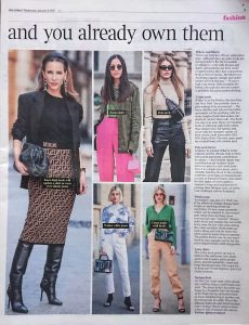 The Times Magazine - Times 2 - 2020 01 08 - Page 5 - spring trends to wear now and you already own them - Alexandra Lapp