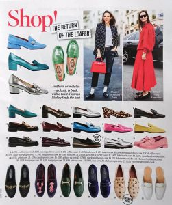 The Times Magazine - Times 2 - 2020 02 - shop the return of the loafer - Alexandra Lapp