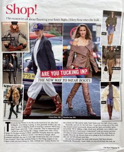The Times Magazine - Times 2 - 2020 03 - shop are you tucking in the new way to wear boots - Alexandra Lapp