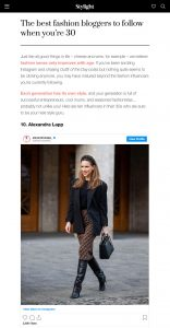 The best fashion bloggers to follow when you're 30 - Stylight - stylight.com - 2020 02 22 - Alexandra Lapp - found on https://www.stylight.com/Magazine/Fashion/Best-Fashion-Bloggers-Follow-Youre-30/