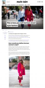 This Is How To Dress Like A German Woman - Street Style Fashion - Marie Claire - 2017-07 - Alexandra Lapp - found on http://www.marieclaire.co.uk/fashion/german-fashion-521577