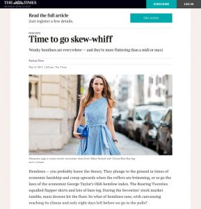Time to go skew whif - Times2 The Times & The Sunday Times - 2017 06 - Alexandra Lapp - found on https://www.thetimes.co.uk/article/the-politics-of-asymmetric-hemlines-p9b85x9g0