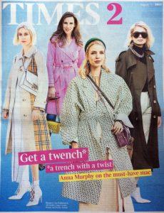 Times2 2019 08 22 - Cover - get a twench - Alexandra Lapp