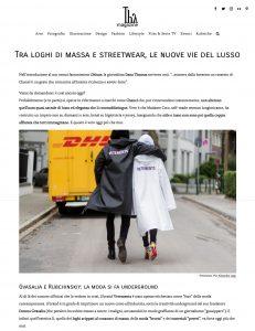 Tra loghi di massa e streetwear le nuove vie del lusso- ThyMagazine Italia - 2018 04 23 - Alexandra Lapp - found on https://thymagazine.it/loghi-di-massa-streetwear-nuove-vie-lusso/