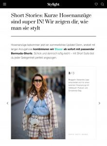 Trend-Check - So stylst du kurze Hosenanzüge - Stylight.de - 2019 05 - Alexandra Lapp - found on https://www.stylight.de/Magazine/Fashion/Kurze-Hosenazuege-Stylen/