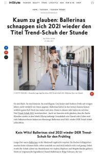 Trend Schuh für 2021 - Ballerinas sind jetzt wieder angesagt - instyle.de - 2021 03 23 - Alexandra Lapp - found on https://www.instyle.de/fashion/trend-schuh-ballerinas-2021