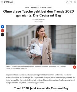 Trends 2020 - Die Croissant Bag - instyle.de - 2020 01 27 - Alexandra Lapp - found on https://www.instyle.de/fashion/trends-2020-croissaint-bag