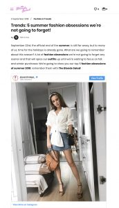 Trends 5 summer fashion obsessions we are not going to forget - theblondesalad com - 2018 09 02 - Alexandra Lapp - found on https://www.theblondesalad.com/fashion/trends-fashion-obsessions.html