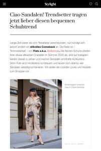 Ciao Sandalen! Trendsetter tauschen Sandalen jetzt gegen DIESEN Schuhtrend - Stylight Switzerland Online - stylight.ch - 2020 07 18 - Alexandra Lapp - found on https://www.stylight.ch/Magazine/Fashion/Schuhtrend-Flats-Sommer/