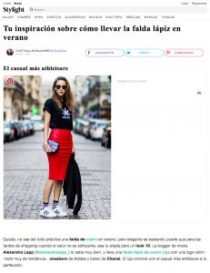 Tu inspiracion sobre como llevar la falda lapiz en verano - Stylight mx - 2017 06 - Alexandra Lapp - found on https://www.stylight.com.mx/Magazine/Fashion/Tu-Inspiracion-Sobre-Como-Llevar-La-Falda-Lapiz-En-Verano/