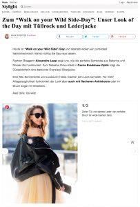 Unser Look of the Day mit Tüllrock und Lederjacke - Stylight - 2017 04 -Alexandra Lapp - found on https://www.stylight.ch/Magazine/Fashion/Look-Of-The-Day-Mit-Tuellrock-Und-Lederjacke/