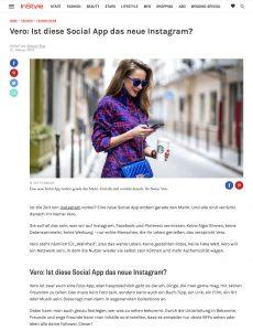Vero - Diese neue Social-App macht Instagram konkurrenz - InStyle - 2018 02 27 - Alexandra Lapp - found on http://www.instyle.de/fashion/vero-app