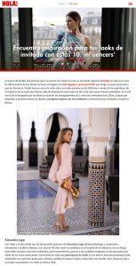 Vestidos de invitada inspirados por 10 influencers - Foto 1 - hola.com - 2020 04 05 - Alexandra Lapp - found on https://www.hola.com/novias/galeria/20200405164578/vestidos-invitadas-boda-instagram/11/
