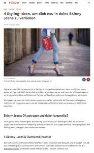 Vier neue Stylingideen für deine Skinny Jeans - INSTYLE - 2017 12 -Alexandra Lapp - found on http://www.instyle.de/fashion/neue-stylingideen-skinny-jeans