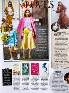 Vogue India - No. 13 - 2019 10 - celeb trend satin - Alexandra Lapp