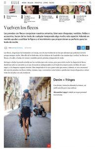 Vuelven los flecos - ELLE Spain online - 2018 08 16 - Alexandra Lapp - found on https://www.elle.com/es/moda/tendencias/g22721385/flecos-tendencia/