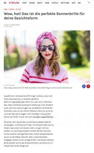 Welche Sonnenbrille zu welcher Gesichtsform passt - Instyle 2017 05 - Alexandra Lapp - found on http://www.instyle.de/fashion/sonnenbrille-gesichtsform-kaufen