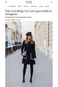 este es el abrigo low cost que triunfa en instagram - ELLE es - 2017-11-13 - Alexandra Lapp - found on http://www.elle.es/moda/compras-elle/g795595/el-abrigo-negro-barato-zara-instagram/?