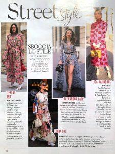 Grazia Italia - No. 21 - 2019 05 09 - Page 136 - Streetstyle Trasparenze - Alexandra Lapp