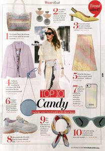 Heatworld - issue 1030 - march 2019 - top ten candy - indulge your sweet tooth with these buys - Alexandra Lapp