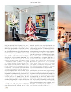 Königsallee Magazin - No. 2 - 2019 - Page 102 - Welcome to Lapp-Land - Alexandra Lapp