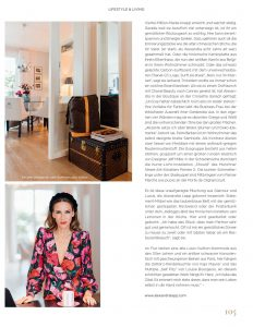 Königsallee Magazin - No. 2 - 2019 - Page 105 - Welcome to Lapp-Land - Alexandra Lapp